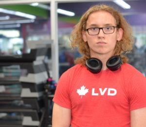 Daniel at the gym