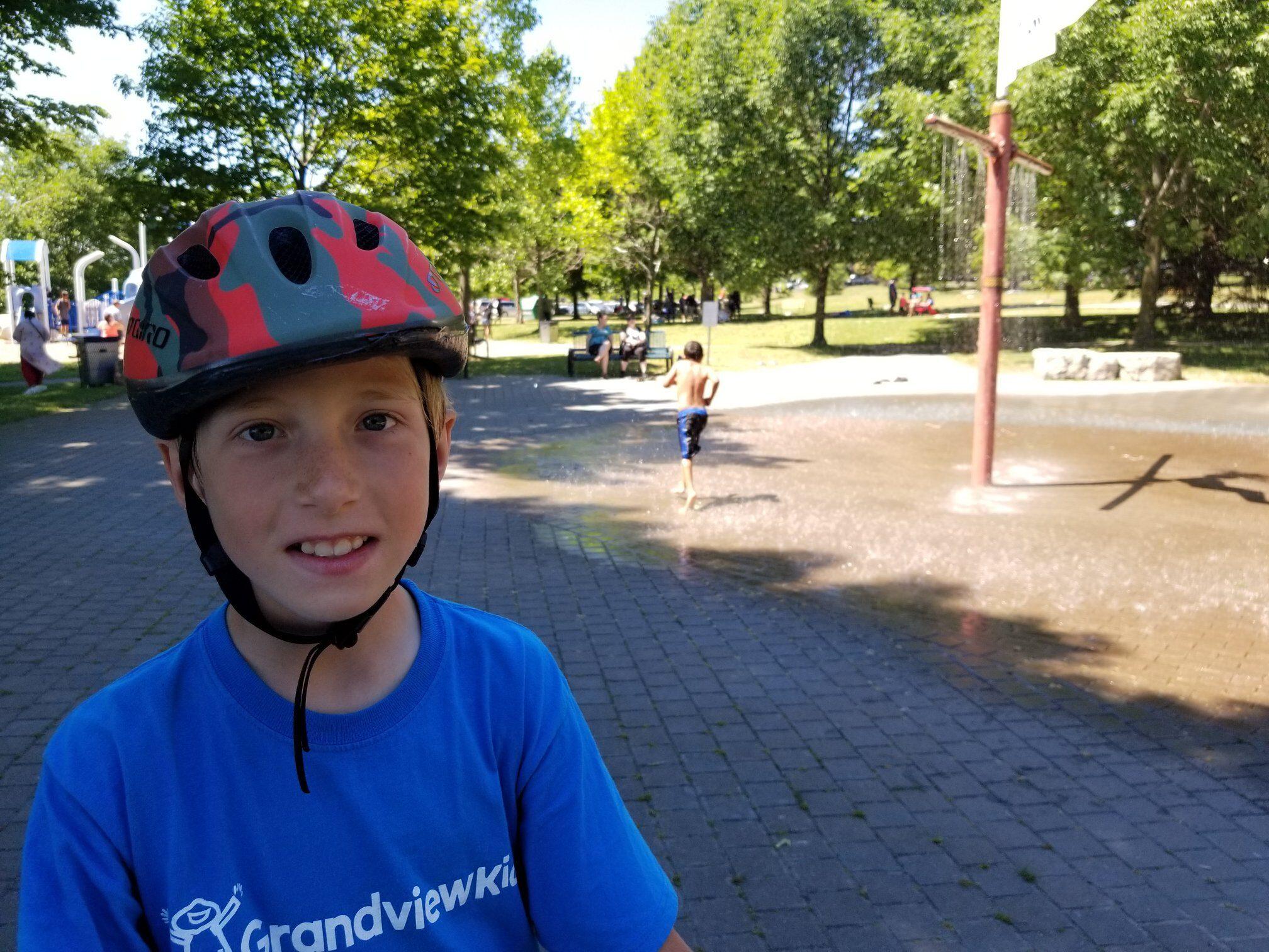 Grandview Kid at the park