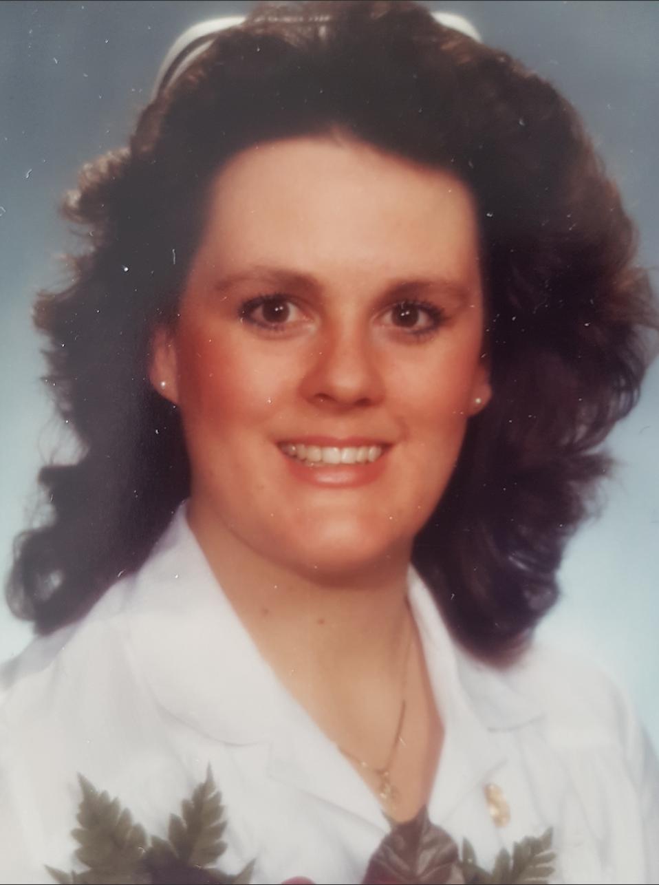 Grandview Kids CEO Lorraine Sunstrum-Mann in her Graduation photo from nursing school
