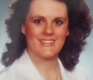 Grandview Kids CEO Lorraine Sunstrum-Mann in her Graduation photo from nursing school