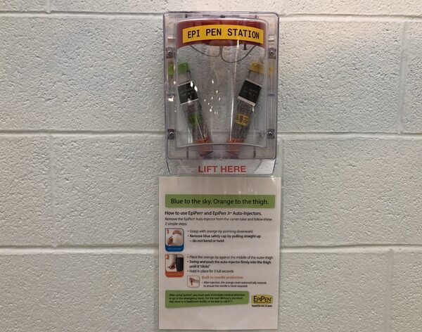 Epipen Station at Grandview