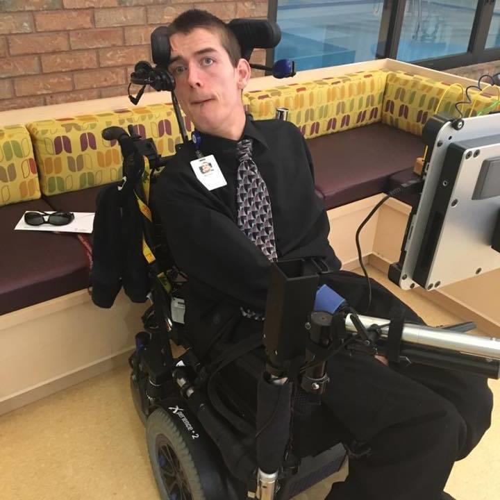 Marshall Hohmann, Ability Awareness Presenter and Grandview Grad