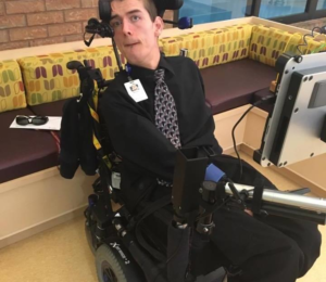 Marshall Hohmann, Ability Awareness Presenter and Grandview Grad